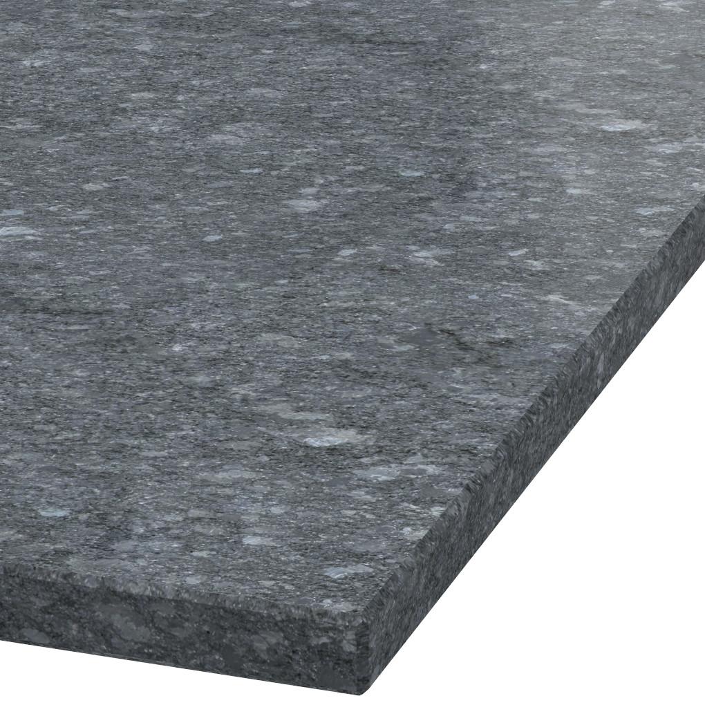 Blad 30mm dik Steel Grey graniet (gezoet)