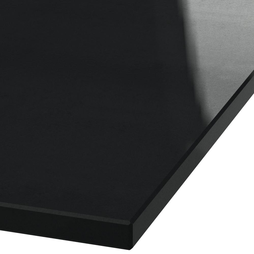 Blad 30mm dik Absolute Black graniet (gepolijst)