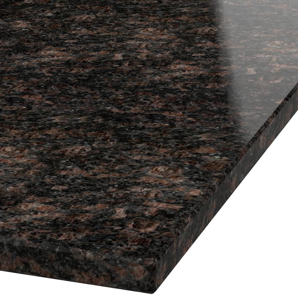 Blad 30mm dik Tan Brown graniet (gepolijst)