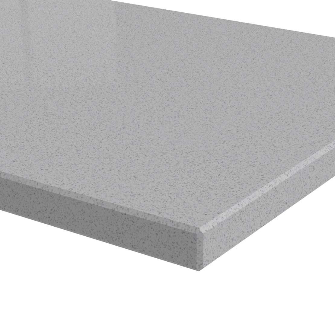 Blad 20mm dik Dolphin Grey kwartscomposiet (velvet)